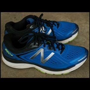 New Balance Male Men's 860V8 Mens Running Shoes